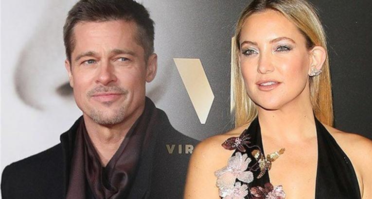 Nuovo amore tra Kate Hudson e Brad Pitt?