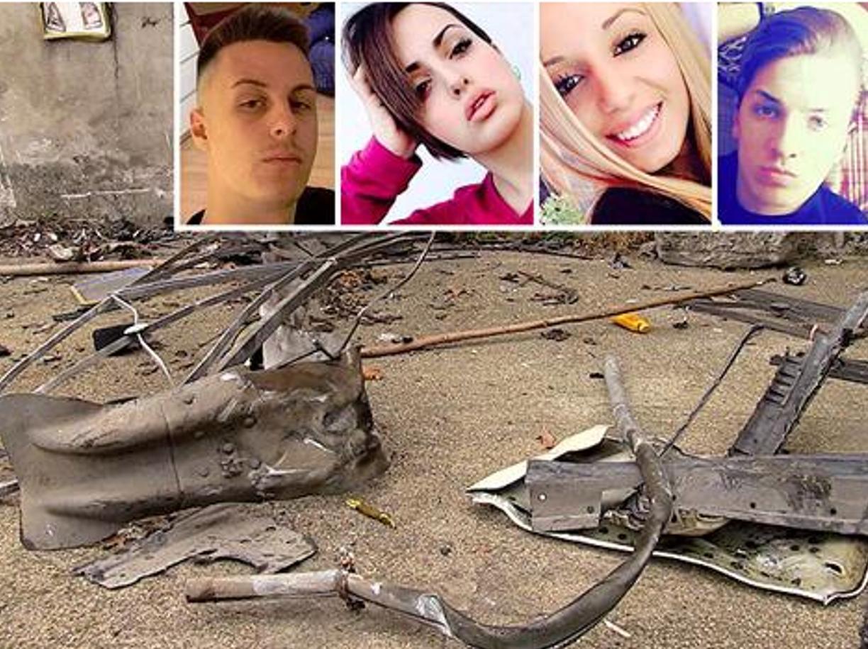 Guidonia, sabato sera tragico per quattro giovanissimi, morti per incidente stradale